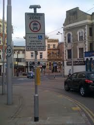mandat za złe parkowanie w UK