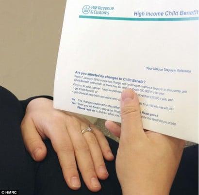 Cięcia w Child Benefit HM Revenue Wysłało Miliony Listów