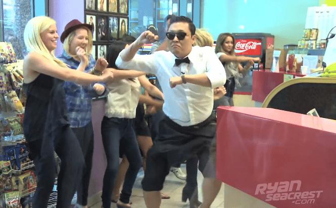 Robot Tańczący Gangnam Style