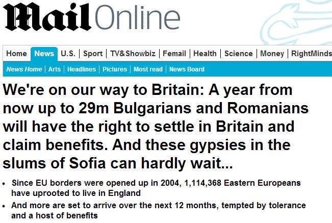 UK Nadchodzi Inwazja Romów Obawy Brytyjczyków Rosną