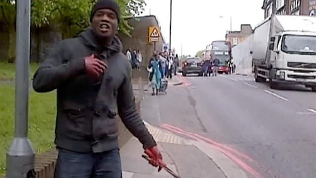 Londyn Woolwich Krwawy Atak - Zabity Mężczyzna Był w Siłach Zbrojnych