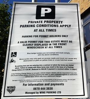 mandat-za-parkowanie-prywatny-parking