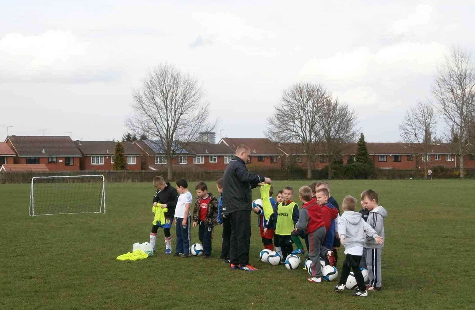 Orlęta z Coventry Szkółka Piłkarska Dla Dzieci Inicjatywa z Myślą o Najmłodszych