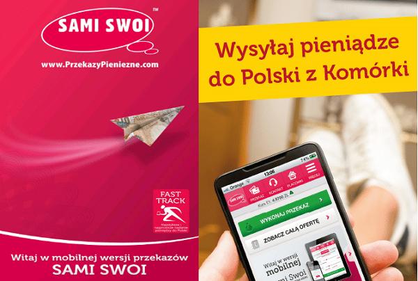Przekazy Pieniężne Do Polski Mobilna Aplikacja dla Mobilnych Osób