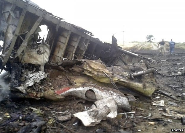 Malezyjski samolot MH17 zestrzelony nad Ukrainą
