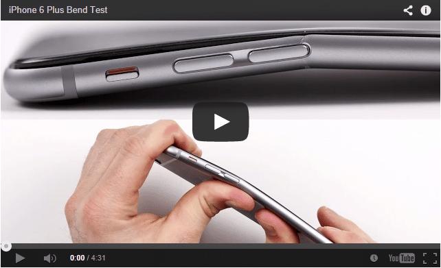 Iphone 6 Plus podatny na zgięcia i złamania przyznaje Apple choć występuje to rzadko