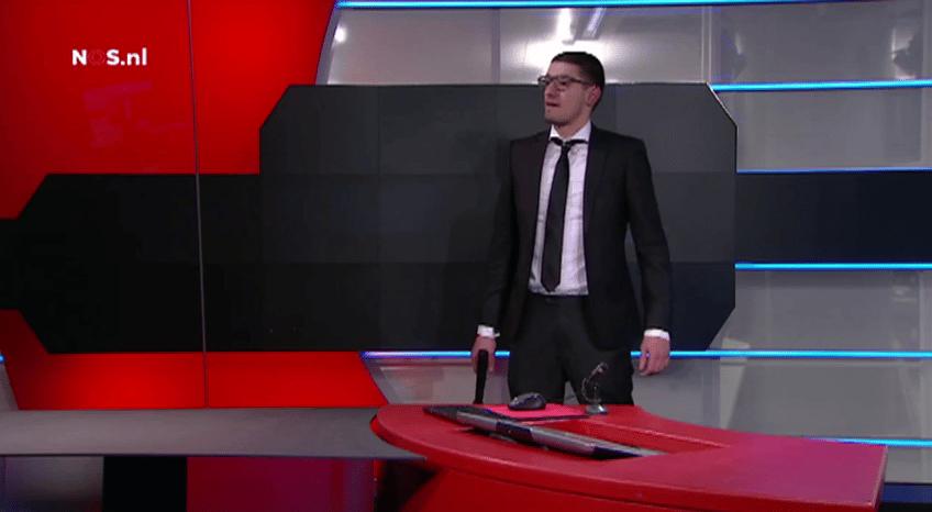 Mężczyzna z imitacją broni zakłócił nadawanie w niemieckiej telewizji NOS